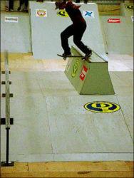 Daniel Vieira sempre está entre os primeiros colocados. Backside tailslide