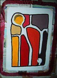 Exposição de arte por Flávio Samelo