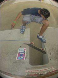 Andrey Piolho, fs flip.