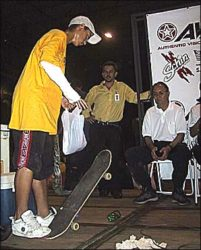 Bruno Soares foi um dos destaques da categoria iniciante, mas acabou ficando na nona colocação.