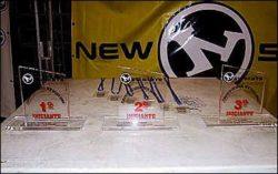Troféus dos iniciantes