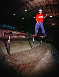 Marcos Hiroshi, fs boardslide reverse