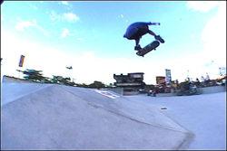 Cabral, frontside flip 180º
