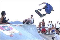 Cabral, frontside flip