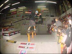 Paulo Galera, bs boardslide.