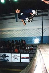 O carioca Júlio Vasconselos foi um dos profissionais que se apresentaram, bs air to disaster.