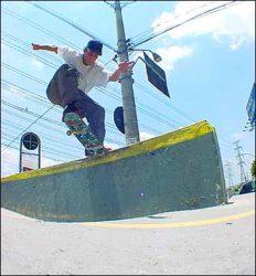 Rafael Dias, halfcab noseslide