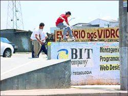 Ricardo Porva aquecendo com um fifty