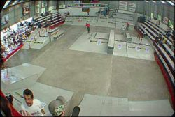 Outra vista da área do Qix Skate Pro Contest 2002
