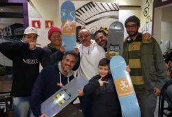 Mi, Sunab, Span, Ricardo Valochi e filhos
