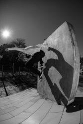Morales - wallride (Foto: Wanderley Vieira)
