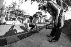 Na Missão do Skate - (Foto: Charles Martins)