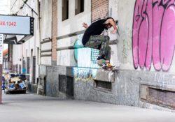 Mazzuchini - Frontside crooked - Foto: Wanderley Vieira