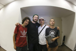 Daniel Marques, Klaus Bohms, Marcelo Garcia e André Porto - Foto- Allan Carvalho