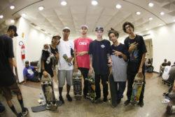 Isamel, JV SIlva, Caique Veloso, Henrique Rocha, Matheus Du Bronx e Victor Gnomo - Foto- Allan Carvalho