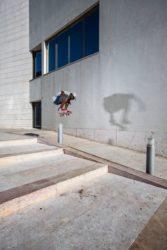 Dwayne Fagundes: Fs flip (Lisboa). Foto: Vinicius Branca