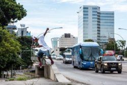 Dwayne Fagundes: bs Tailslide (POA). Foto: Vinicius Branca
