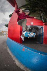 Cleverson - No Comply Wallie Foot Flip - Foto Lucas Cicolo