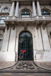 Dwayne Fagundes em Lisboa. Foto: Vinicius Branca