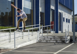 Dario Serutti, fs boardslide (foto- A. Chopa)