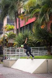Marcos noveline: Bs tailslide. Foto: André Calvão