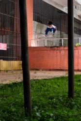 Marcelo Batista: Fs Ollie 180 - Foto: Felipe Fernandeskt