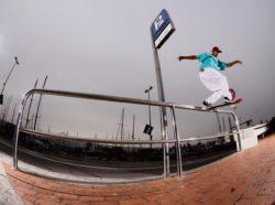 Thyago Silva: Bs tailslide no MACBA - Foto: Washington Teixeira
