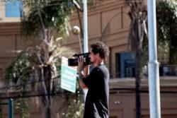 Iago filmando captado por Rapha Ribeiro