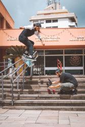 Flip backside boardslide(foto Matheus Burtet)
