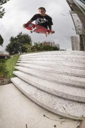 Nunes ignora a escada (foto Diego Sarmento)
