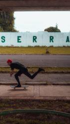 Seguindo com o skate